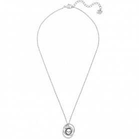 Swarovski Greeting Ring necklace, spiral pendant silver - 5380554