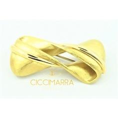 Vendorafa sphere brooch , in gold and brown diamonds