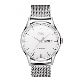 Heritage Visodate Automatic silver watch - T0194301103100