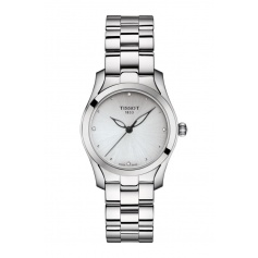 Tissot T-Wave watch, woman silver T1122101103600