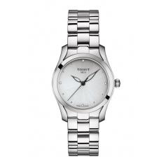 Tissot T-Wave watch, woman silver T1122101103600