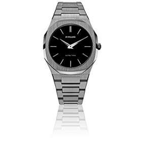 D1 Milano watch, Ultra Thin line, octagonal burnished