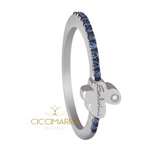 Just Salvini ring with sapphires and diamonds - 20054174