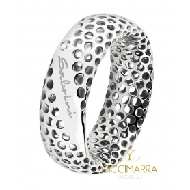 Salvini Golden Cage ring, white gold with brilliant