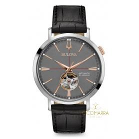 Bulova Classic Automatic Watch, leather 96A187