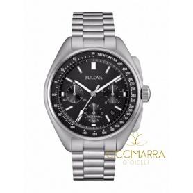 Bulova Lunar Fliegeruhr Chronograph Stahl