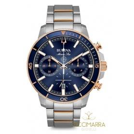 Bulova Marine Star Uhr, blauer Chronograph