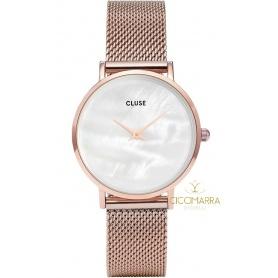CLUSE Minuit Watch Le Perle rosè - CL30047