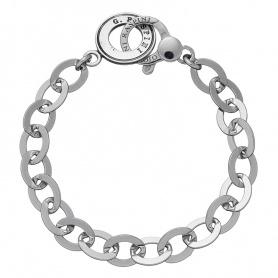 G. Raspini Silber Oval Kette Armband - 6426