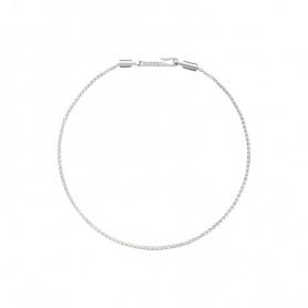 Giulia Line Armband in Silber mit Hakenverschluss, Civita von Queriot