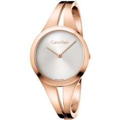 Calvin Klein Addict medium rosè watch K7W2M616