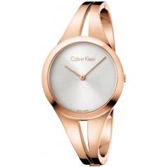 Calvin Klein Addict medium rosè watch K7W2M616