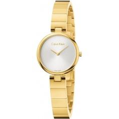 Calvin Klein Authentic watch in gold steel K8G23546