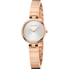 Calvin Klein Authentic rose steel watch K8G23646