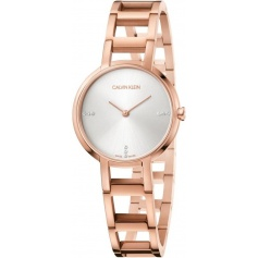 Calvin Klein watch Cheers rosè diamonds K8N2364W
