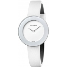 Calvin Klein Chic Watches satin strap - K7N23TK2