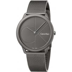 CK Minimal Steel Milan milestone smoked watch - K3M517P4