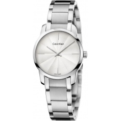 Calvin Klein Watches City steel wave dial - K2G23146