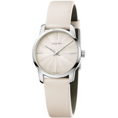 Calvin Klein Watches City Sand Leather Bracelet - K2G231XH