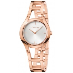 Calvin Klein Watches Class in pink PVD - K6R23626