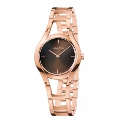 Calvin Klein Watch Class rose pvd and mud dial - K6R2362K