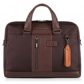 Briefcase Piquadro man woman Brief brown - CA4440BR / TM