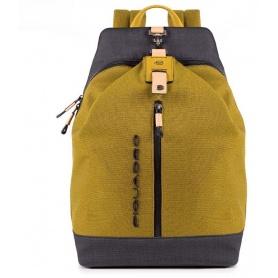 Piquadro Blade yellow backpack CA4544BL / GL