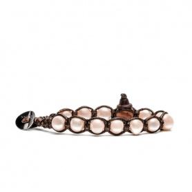 Bracciale Tamashii Perla rosa novità - BHS900-192