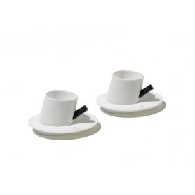 Satz von zwei Kaffee Tassen-DCM01