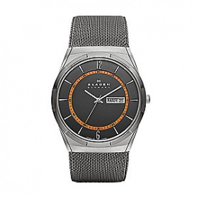 Skagen Melbye men's watch gray large - SKW6007