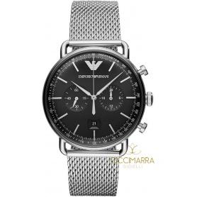 Armani Aviator watch Vintage crono milan shirt AR11104