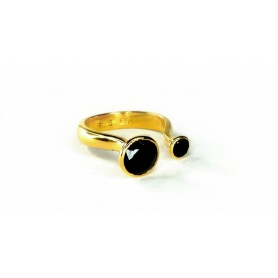 Emi & Eve Unity ring with Onyx EER044NN