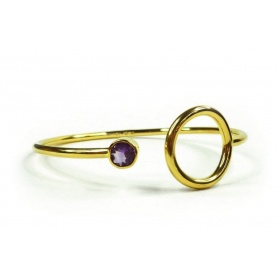 Bangle Emi & Eve Unity with Amethyst EEB011A