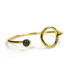 Emi & Eve Unity Bangle with Sapphire EEB011S
