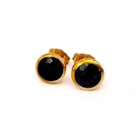 Emi & Eve Unity Earrings with Onyx EEA049N