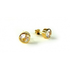 Emi & Eve Unity earrings with white Topaz EEA049T