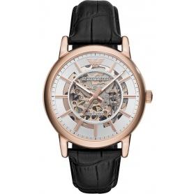 Empori Armani Luigi automatic rosè watch AR60007