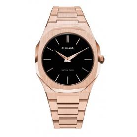 Uhr D1 Milano Ultra Thin Linie achteckig rosa UTB03