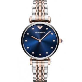 Giannii Uhr Emporio Armani Frau blau AR11092