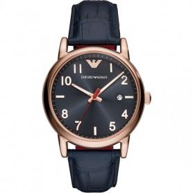 Emporio Armani Luigi blaue Uhr AR11135