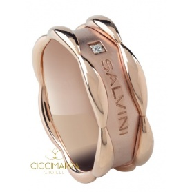 Salvini Sunny ring with rose gold band 20075599