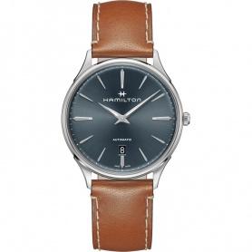 Hamilton orologio uomo Jazzmaster Thin automatico quadrante blu