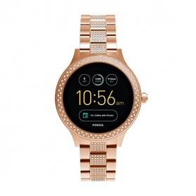 Fossil Watch Smartwatch Frau Fossil Q Venture Swarovski