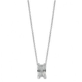 Salvini necklace with pendant white gold sunny collection - 20075607