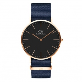 Daniel Wellington Bayswater watch 40mm rosè black