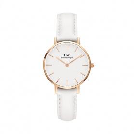 Daniel Wellington Bondi 28mm Rosé Weiß Uhr