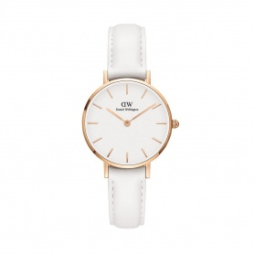 Daniel Wellington Bondi 28mm rosè white watch