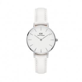 Daniel Wellington Bondi 28mm silberne weiße Uhr