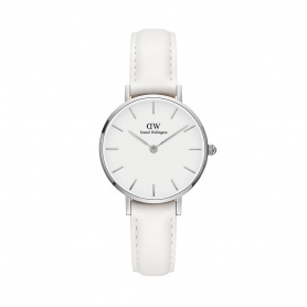 Daniel Wellington Bondi 28mm silver white watch