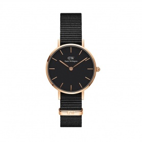 Watch Daniel Wellington Cornwall 28mm rosè black